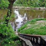 Wycieczki po Polesiu - Włodawa - pomiar wody na Bugu