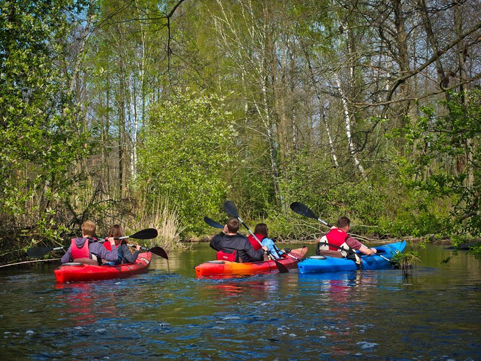 rzeka Włodawka - spływ kajakowy po Włodawce